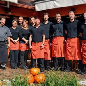 A Kakas Étterem csapata